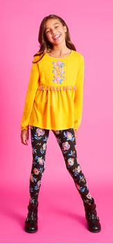 Golden Flower Outfit