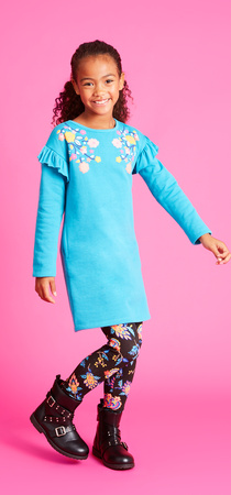 Floral Fleece Outfit