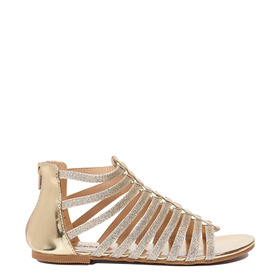 Gold Gladiator Sandal