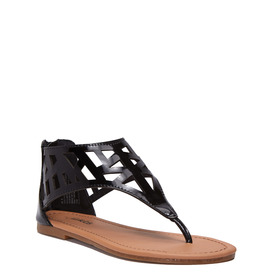 Cutout Hooded Sandal