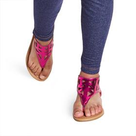 Cutout Hooded Sandal