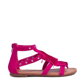 Studded Fringe Sandal