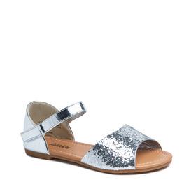 Glitter Peep Toe Sandal