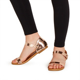 Rose Gold Metallic Sandal