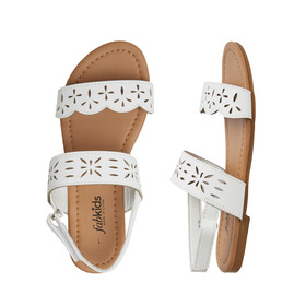 Laser Cut Strap Sandal