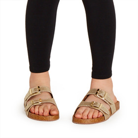 Two Strap Slide Sandal