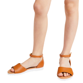 Brown Track Sole Sandal