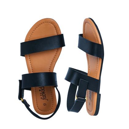 Tan Two-Strap Sandal