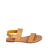 Tan Two-Strap Sandal