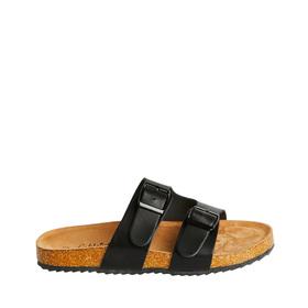 Cork Track Sole Slide Sandal