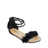 Fringe Strap Sandal