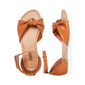 Knotted Strap Sandal