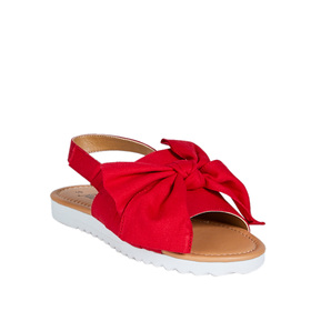 Oversized Bow Sandal