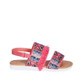 Fringe Track Sole Sandal