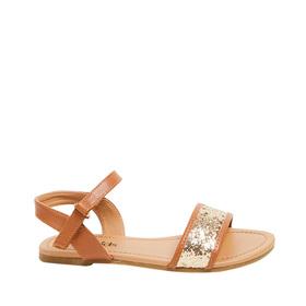 Glitter Ankle Strap Sandal