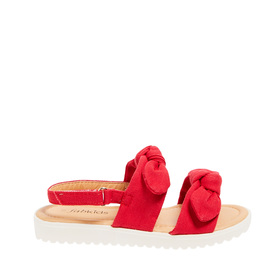 Double Bow Sandal