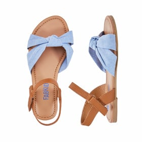 Photo of Chambray Double Knot Sandal