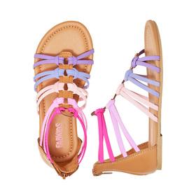 Photo of Double Loop Gladiator Sandal