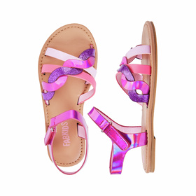 Photo of Braided Holographic Sandal