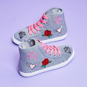Photo of Patch High Top Sneaker