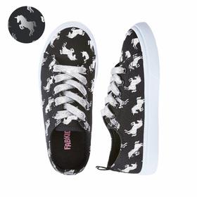 Photo of Metallic Unicorn Lace Up Sneaker