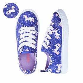 Photo of Celestial Unicorn Lace Up Sneaker
