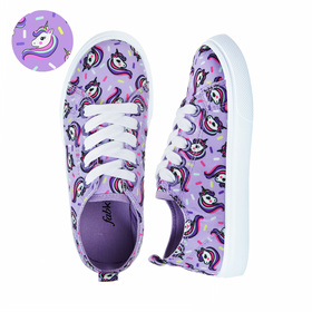 Photo of Sprinkle Unicorn Lace Up Sneaker
