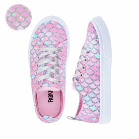 Photo of Mermaid Lace Up Sneaker