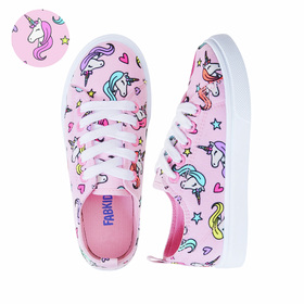 Photo of Unicorn Hearts Lace Up Sneaker