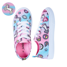 Photo of Sticker Icon Lace Up Sneaker