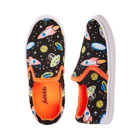 Photo of Space Print Slip On Sneaker