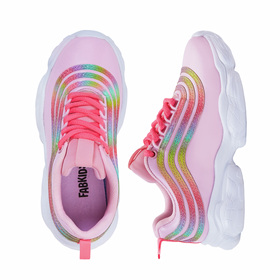 Photo of Ombre Stripe Athletic Sneaker