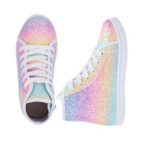 Photo of Rainbow Glitter High Top Sneaker