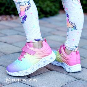 Photo of Light Up Rainbow Athletic Sneaker