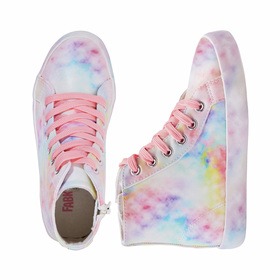 Photo of Marble Rainbow High Top Sneaker