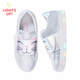 Photo of Cat Face Light Up Sneaker