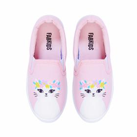 Photo of Flower Crown Kitty Slip On Sneaker