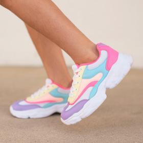 Photo of Colorblock Trainer Sneaker