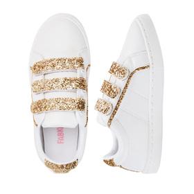 Photo of Multi Strap Glitter Sneaker