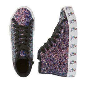 Photo of Unicorn Printed Sole High Top Sneaker
