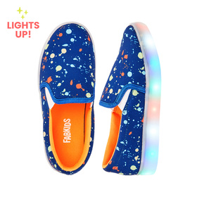 Photo of Paint Splatter Slip On Light Up Sneaker