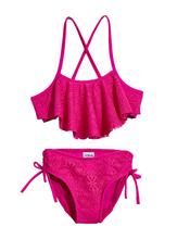 Crochet Flounce Bikini