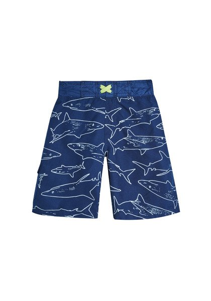 Shark Graphic Swim Trunk