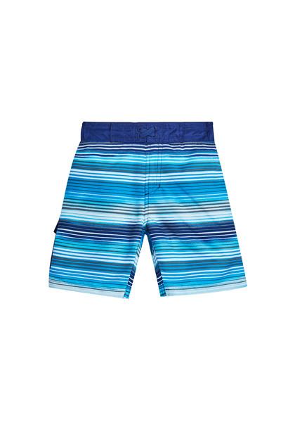 Multi Stripe Swim Trunk