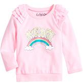 Rainbow Ruffle Sweatshirt