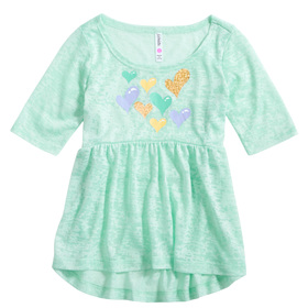 Babydoll Heart Graphic Tee
