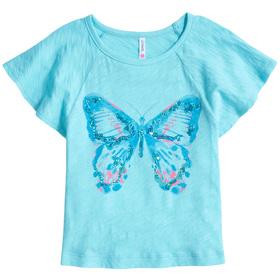 Butterfly Flutter Sleeve Tee