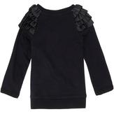 Love Plaid Ruffle Sweatshirt