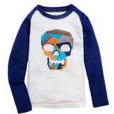 Patch Skull Graphic Tee