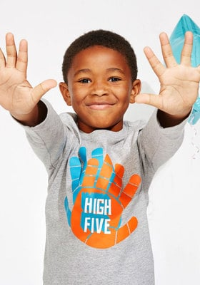 High Five Graphic Tee